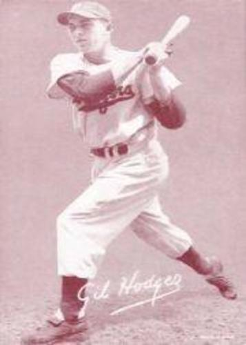 Photo of 1947-66 Exhibits #99A Gil Hodges/Brooklyn cap