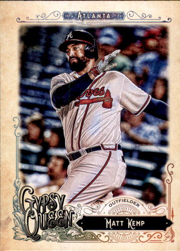 Photo of 2017 Topps Gypsy Queen #159 Matt Kemp