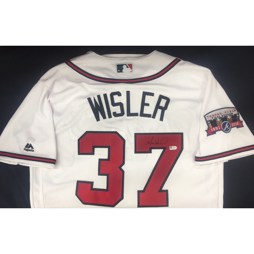 Photo of Braves Charity Auction - Matt Wisler Autographed Jersey