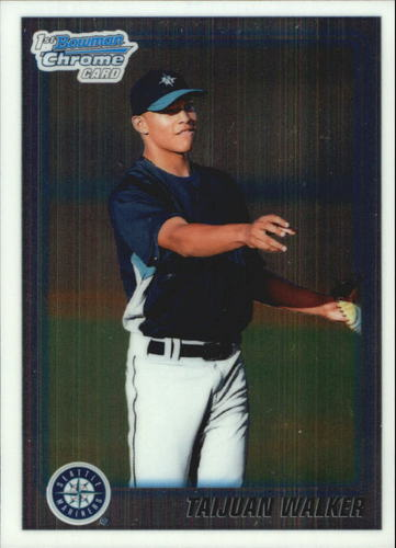 Photo of 2010 Bowman Chrome Draft Prospects #BDPP39 Taijuan Walker Pre-Rookie Card