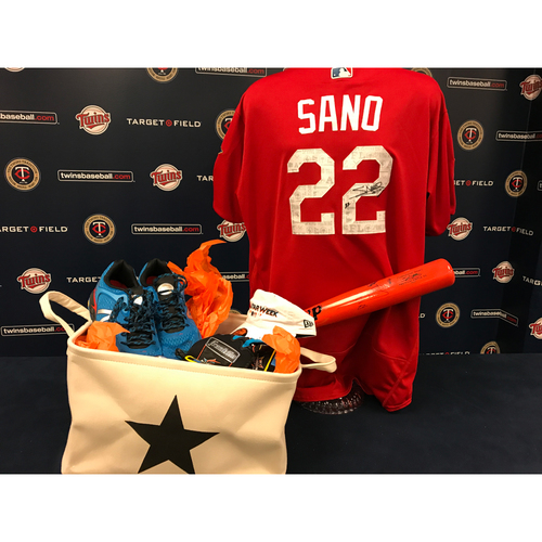 Photo of 2017 Twins Favorite Things Auction: Miguel Sano Favorite Things Basket