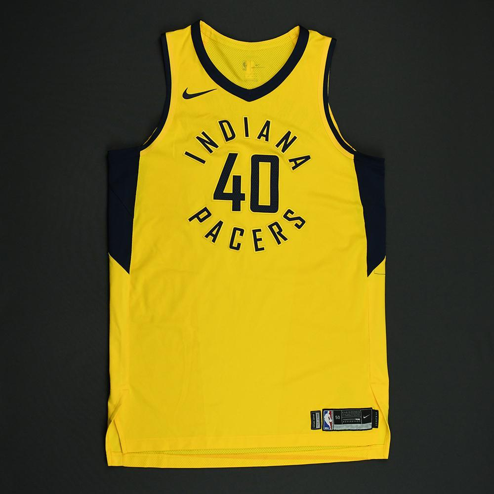 Glenn Robinson III - Indiana Pacers - 2018 NBA Playoffs Game-Worn Statement Jersey - Worn in 1 Game