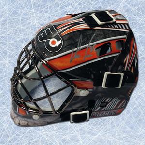 Steve Mason Philadelphia Flyers Autographed Franklin SX Comp GFM 100 Mini-Mask