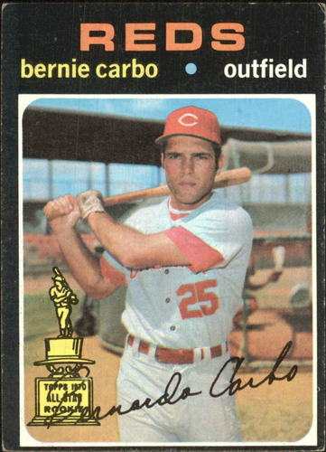 Photo of 1971 Topps #478 Bernie Carbo