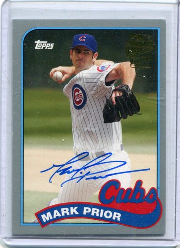 Photo of 2015 Topps Archives Fan Favorites Autographs Silver #FFAMP Mark Prior