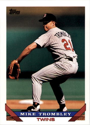 Photo of 1993 Topps #588 Mike Trombley