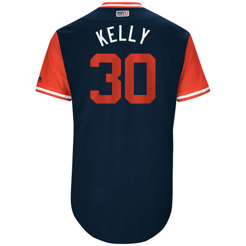 """Photo of Carson """"Kelly"""" Kelly St. Louis Cardinals Game-Used Players Weekend Jersey"""