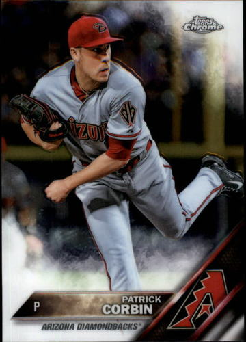 Photo of 2016 Topps Chrome #49 Patrick Corbin -- D'backs post-season