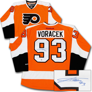 Jakub Voracek Autographed Philadelphia Flyers Jersey