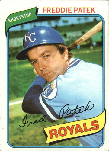 Photo of 1980 Topps #705 Freddie Patek