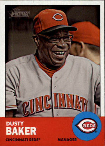 Photo of 2012 Topps Heritage #422 Dusty Baker MG