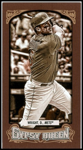 Photo of 2014 Topps Gypsy Queen Mini Sepia #322 David Wright
