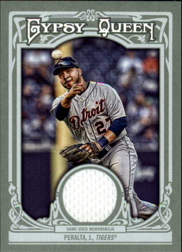 Photo of 2013 Topps Gypsy Queen Relics #JPE Jhonny Peralta