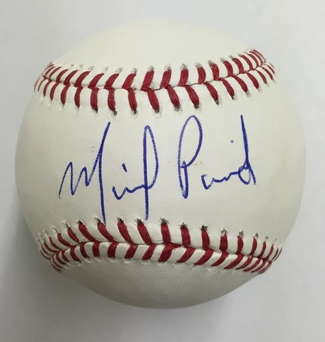 Photo of Michael Pineda Autographed Baseball