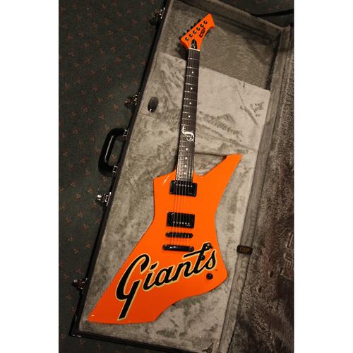 Photo of GCF Auction: James Hetfield 2016 Giants Metallica Night National Anthem Guitar