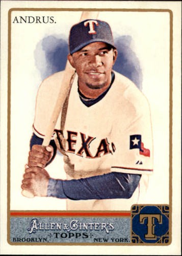 Photo of 2011 Topps Allen and Ginter #214 Elvis Andrus