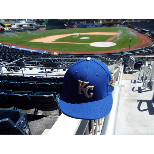Photo of Eric Hosmer Game-Used Hat (SIZE 7 3/8)
