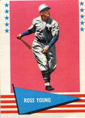 Photo of 1961 Fleer #154 Ross Youngs