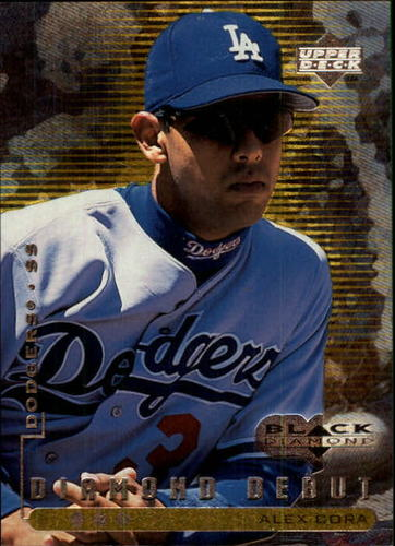 Photo of 1999 Black Diamond Triple #104 Alex Cora DD