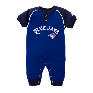 Toronto Blue Jays Newborn Game Time Coverall Royal by Majestic
