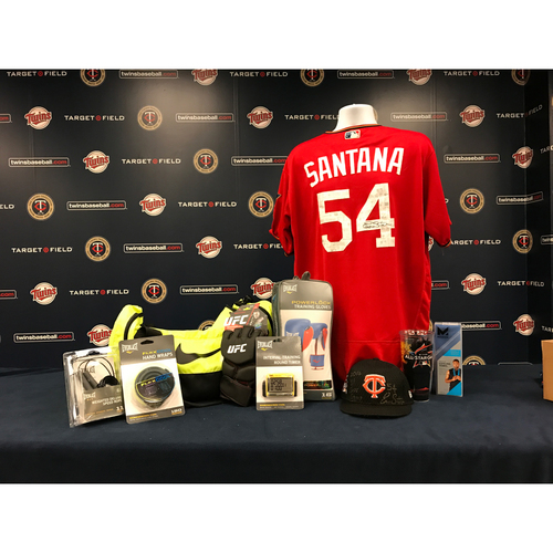 Photo of 2017 Twins Favorite Things Auction: Ervin Santana Favorite Things Basket