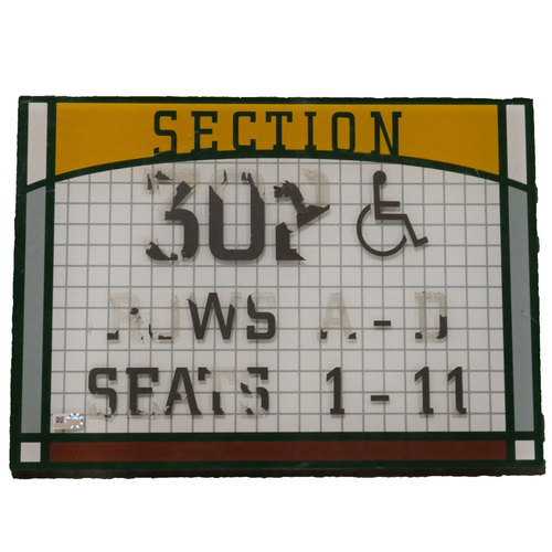 "Photo of San Francisco Giants - AT&T Park Sign - ""Section 302"""