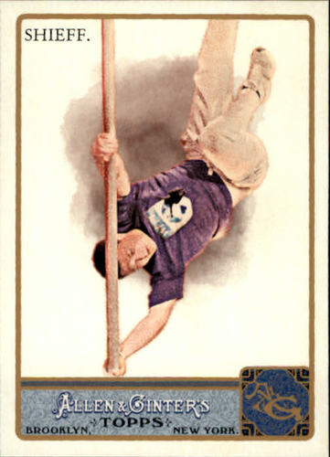 Photo of 2011 Topps Allen and Ginter #112 Timothy Shieff
