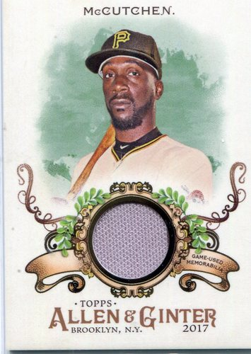 Photo of 2017 Topps Allen and Ginter Relics #FSRBAM Andrew McCutchen B