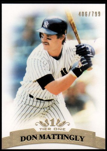 Photo of 2011 Topps Tier One #23 Don Mattingly