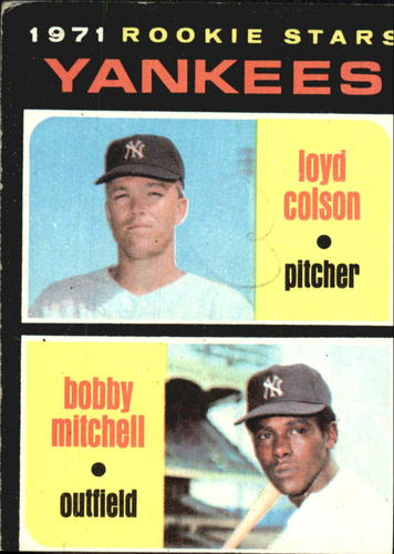 Photo of 1971 Topps #111 Rookie Stars/Loyd Colson RC/Bobby Mitchell RC