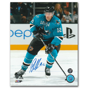 Patrick Marleau Autographed San Jose Sharks 8X10 Photo