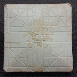 Authenticated Game-Used 1st Base from July 10, 2016 vs Detroit Tigers for Blue Jays 40th Season Celebration Game 2 - used for innings 4-6