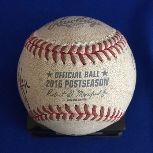 Photo of UMPS CARE AUCTION: 2016 NLDS Crew Signed Baseball (LAD vs. WAS)