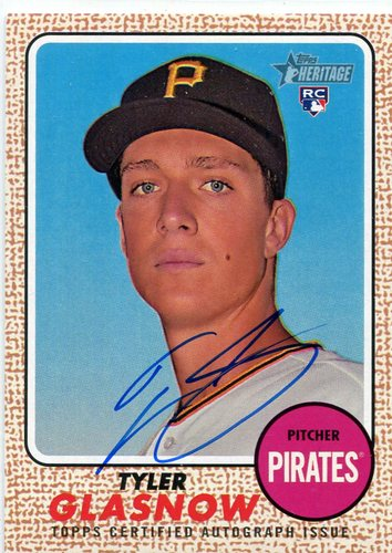 Photo of 2017 Topps Heritage Real One Autographs #ROATG Tyler Glasnow