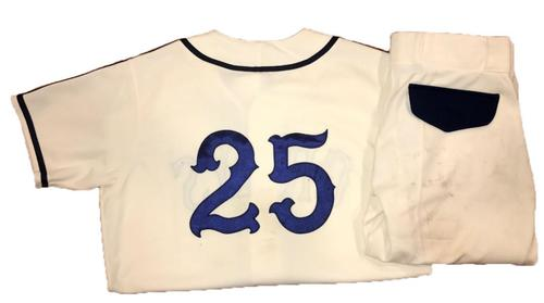 Photo of Gregory Polanco Game-Used Homestead Greys Jersey and Pants