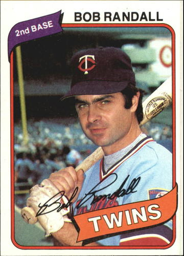 Photo of 1980 Topps #162 Bob Randall