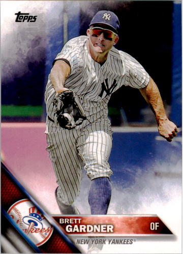 Photo of 2016 Topps #116 Brett Gardner