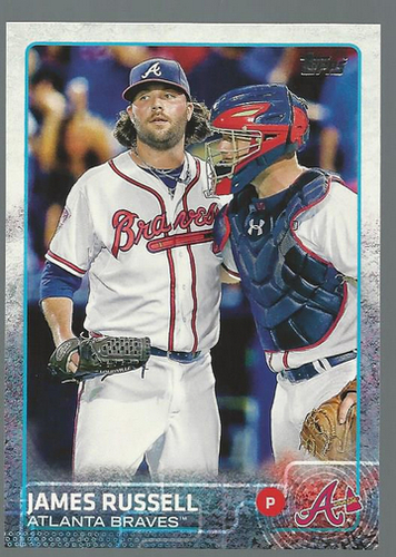 Photo of 2015 Topps #255 James Russell