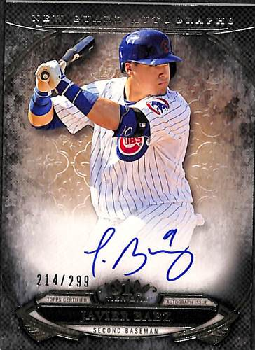 Photo of 2015 Topps Tier One New Guard Autographs #NGAJBZ Javier Baez #'d to 299