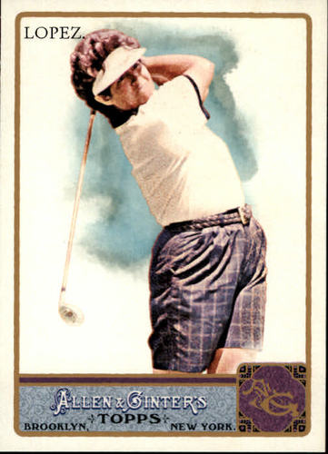 Photo of 2011 Topps Allen and Ginter #119 Nancy Lopez