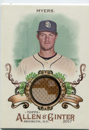 Photo of 2017 Topps Allen and Ginter Relics #FSRBWM Wil Myers B