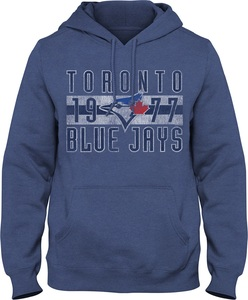 Toronto Blue Jays Club History Fleece Hoody by Bulletin