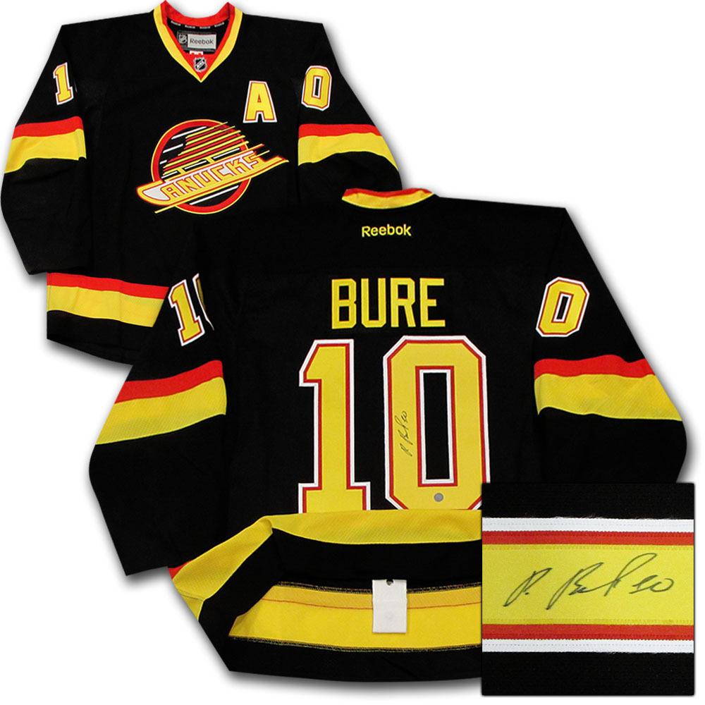 Pavel Bure Autographed Vancouver Canucks Authentic Pro Jersey