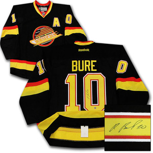 Pavel Bure Autographed Vancouver Canucks Authentic Pro Jersey