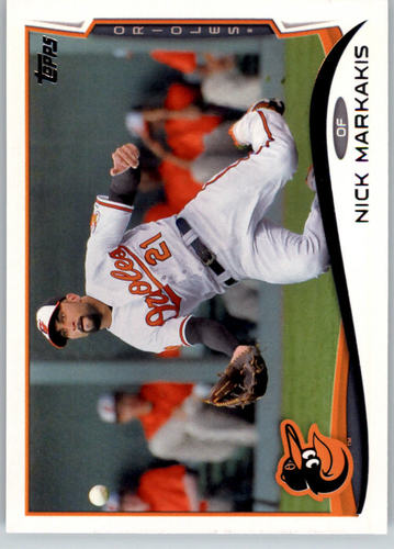 Photo of 2014 Topps #61 Nick Markakis