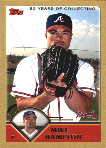 Photo of 2003 Topps Gold #439 Mike Hampton