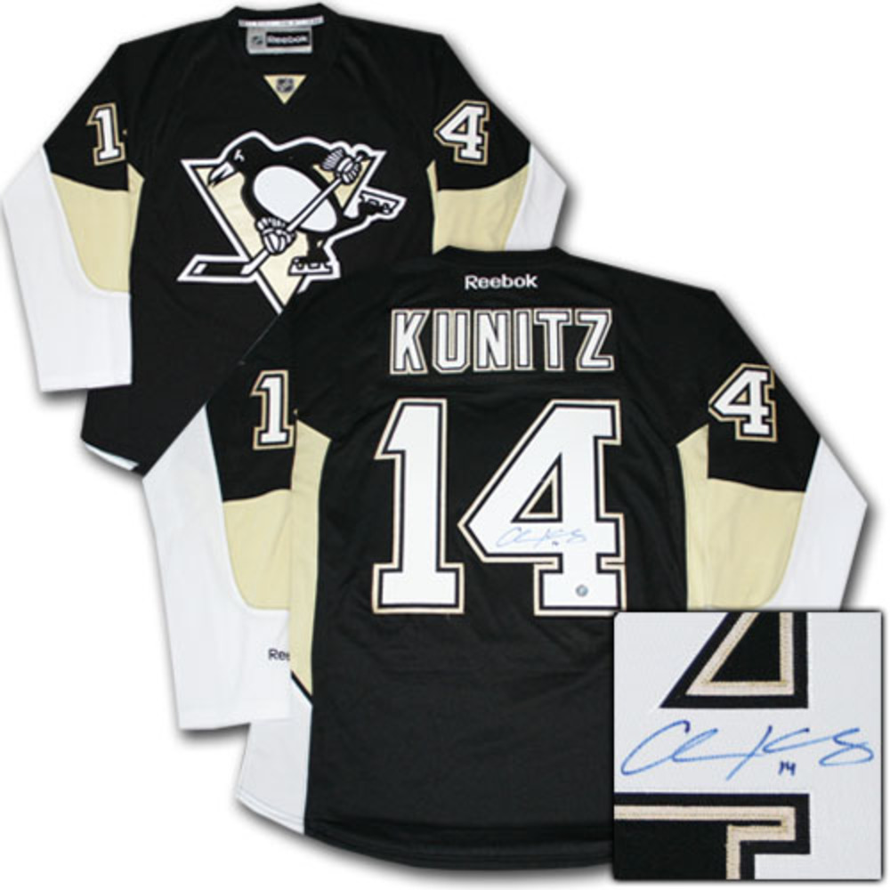 2016 Stanley Cup Champion - Chris Kunitz Autographed Pittsburgh Penguins Jersey