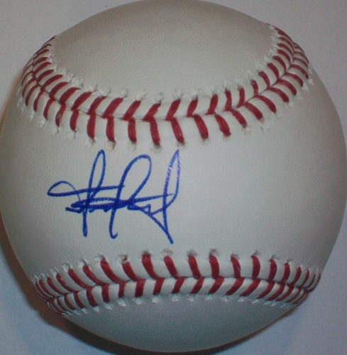 Francisco Martinez Autographed Baseball