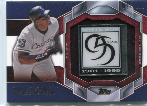Photo of 2015 Topps Commemorative Patch Pins  Frank Thomas