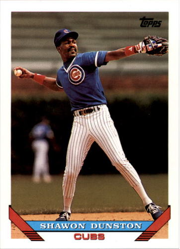 Photo of 1993 Topps #595 Shawon Dunston